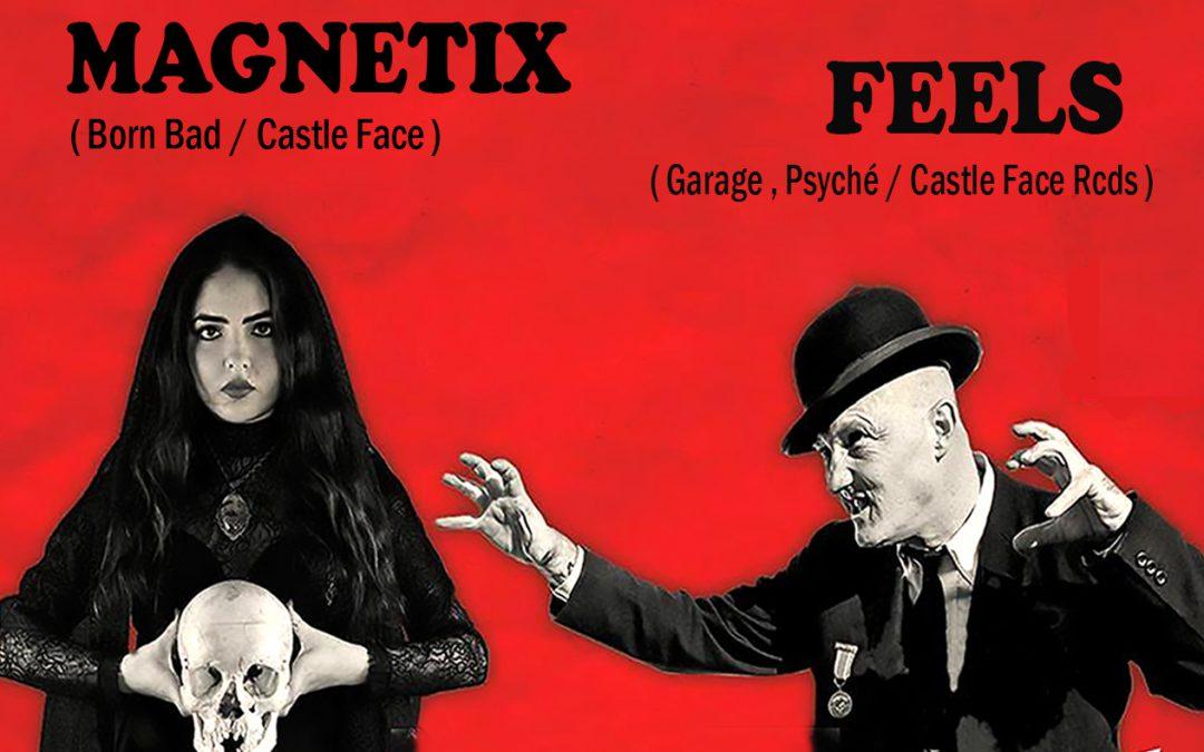 U-Turn Touring 12th Anniversary Night : Reverend Beat-Man & Izobel Garcia / FEELS / Magnetix