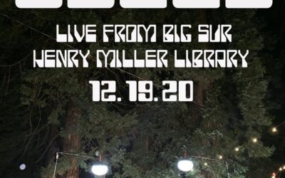 OSEES ANNOUNCE LIVESTREAM DECEMBER 19TH  LIVE AT THE HENRY MILLER LIBRARY BIG SUR