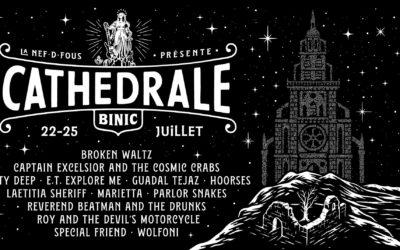 Binic Folk Blues Festival Announce Special Edition La Cathédrale